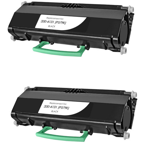 Twin Pack - Remanufactured replacement for Dell 330-413