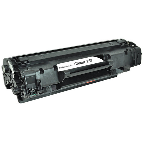 Remanufactured replacement for Canon 128 (3500B001AA) black laser toner cartridge