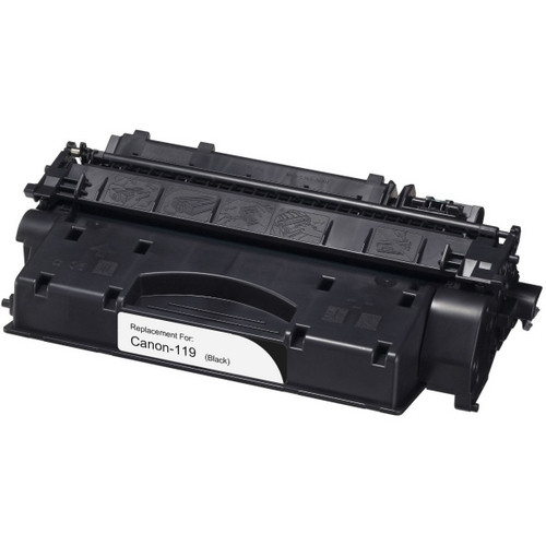 Remanufactured replacement for Canon 119 (3480B001AA) black laser toner cartridge