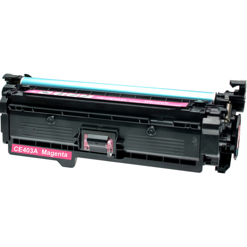 Remanufactured replacement for HP 507A (CE403A) magenta laser toner cartridge