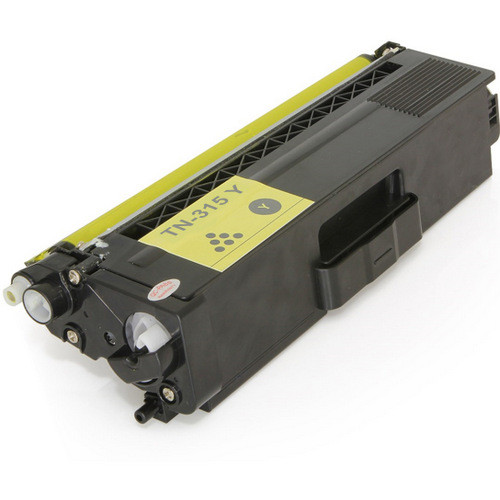 Compatible replacement for Brother TN315Y yellow laser toner cartridge