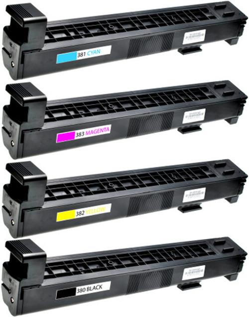 HP 823A Black & 824A Color Set
