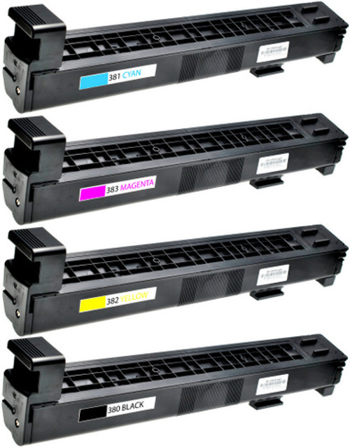 HP 823A Black & 824A Color Set