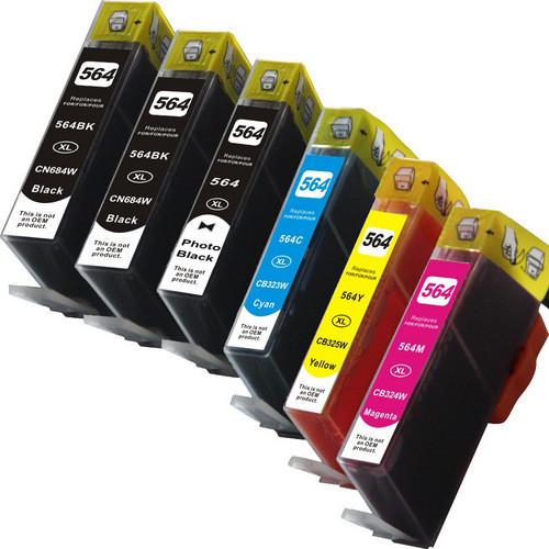 HP 564XL-Photo-Black-Color-Set