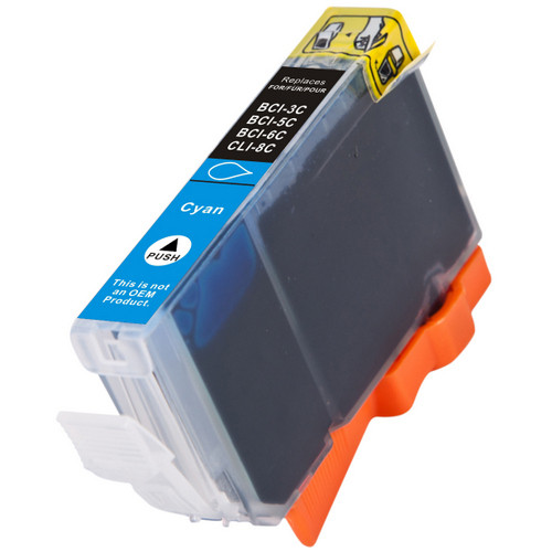 Compatible replacement for Canon BCI-6C (4706A003) photo cyan ink cartridge