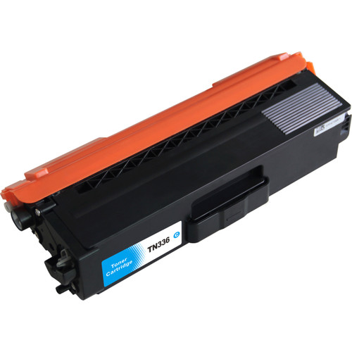 Compatible replacement for Brother TN336 Cyan laser toner cartridge