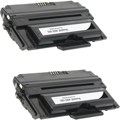 Twin Pack - Remanufactured replacement for Dell 330-2209 (NX994)