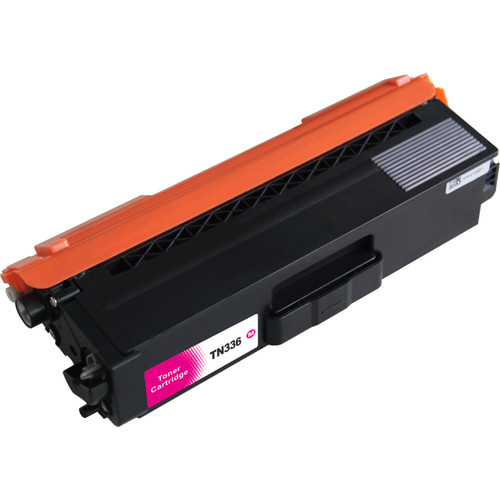 Compatible replacement for Brother TN336 Magenta laser toner cartridge