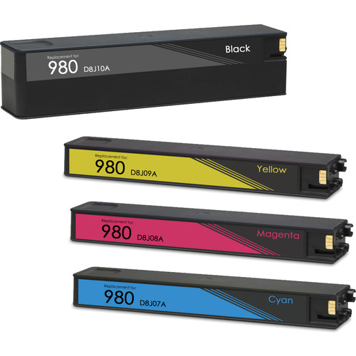 Replacement Ink Cartridge Set For HP 980