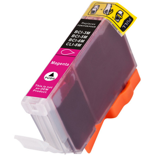 Compatible replacement for Canon BCI-3eM (4481A003) magenta ink cartridge