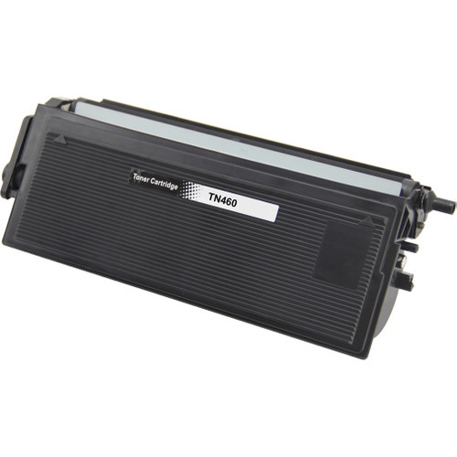 Remanufactured replacement for Brother TN460 black laser toner cartridge
