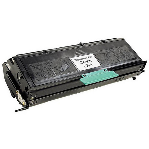 Remanufactured replacement for Canon FX-1 (1551A002AA) black laser toner cartridge