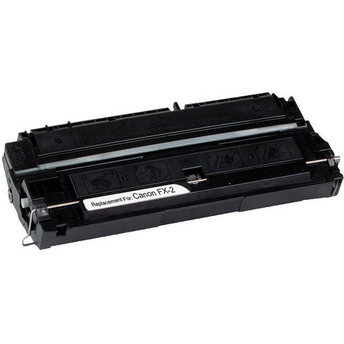 Remanufactured replacement for Canon FX-2 (1556A002BA) black laser toner cartridge
