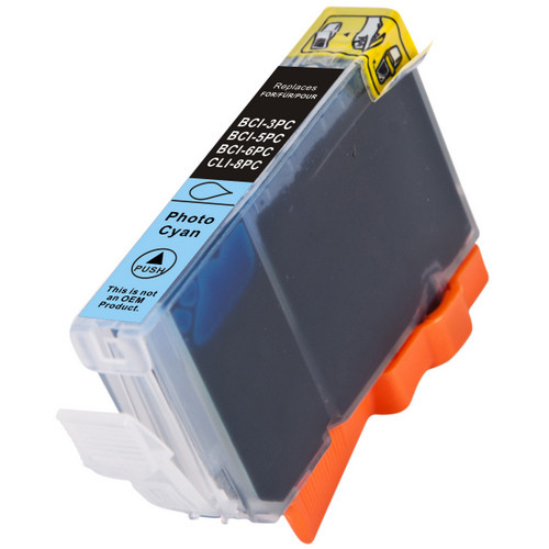 Compatible replacement for Canon BCI-6PC (4709A003) photo cyan ink cartridge