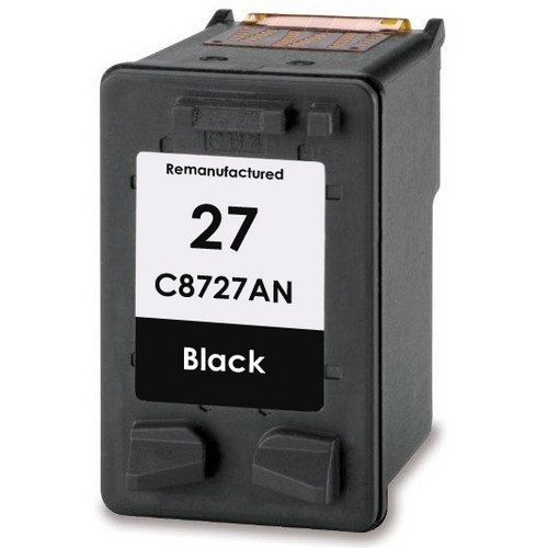 Remanufactured replacement for HP 27 (C8727AN) black ink cartridge