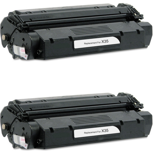 Twin Pack - Remanufactured replacement for Canon S35 (7833A001AA) black laser toner cartridge