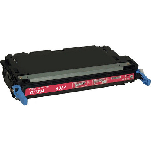Remanufactured replacement for HP 503A (Q7583A) magenta laser toner cartridge