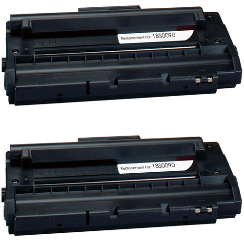 Twin Pack - Remanufactured replacement for Lexmark 18S0090