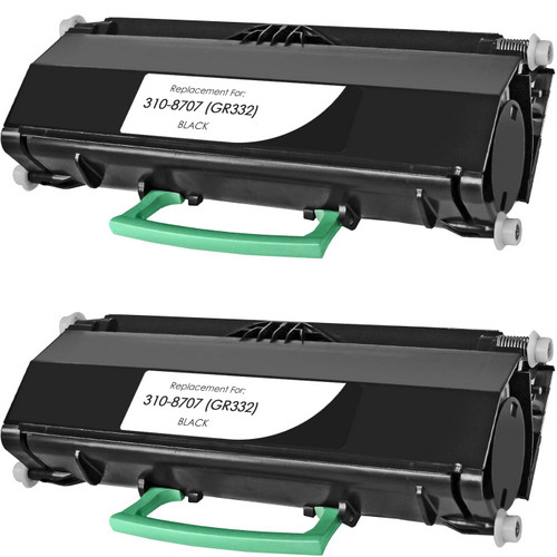 Twin Pack - Remanufactured replacement for Dell 310-8707 (GR332)