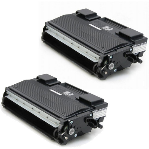 Twin Pack - Compatible replacement for Brother TN670 black laser toner cartridge