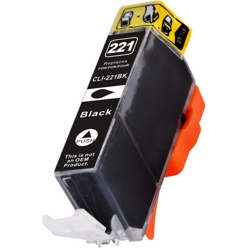 Compatible replacement for Canon Cli-221BK (2946B001) black ink cartridge