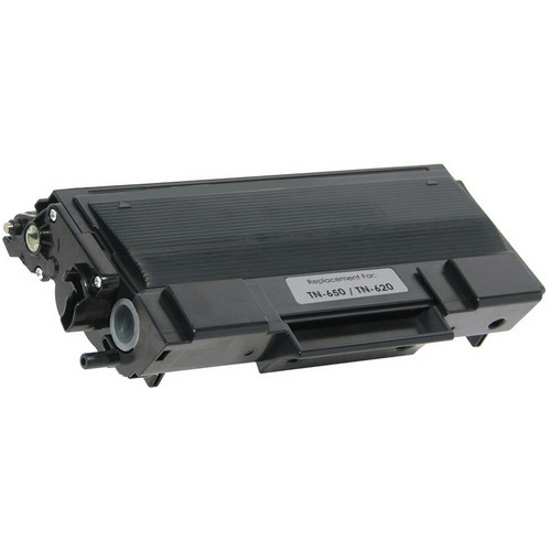 Remanufactured replacement for Brother TN650 black laser toner cartridge