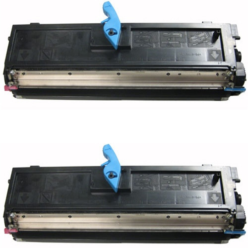 Twin Pack - Remanufactured replacement for Dell 310-9319 (TX300) black toner cartridge