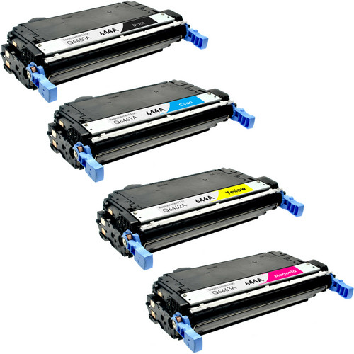 4 Pack - Remanufactured replacement for HP 644A series laser toner cartridges