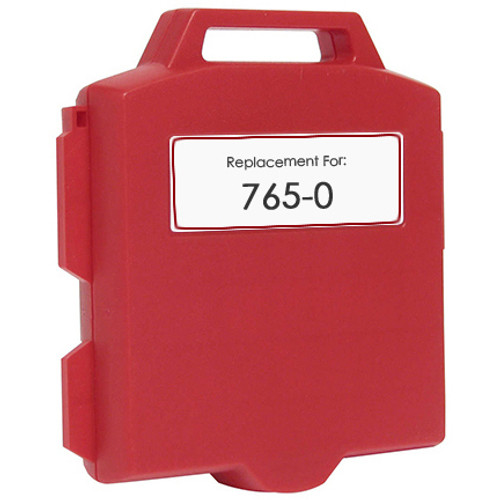 Pitney-Bowes 765-0 red ink cartridge