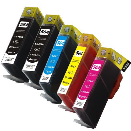 HP 564XL-black- color-Set