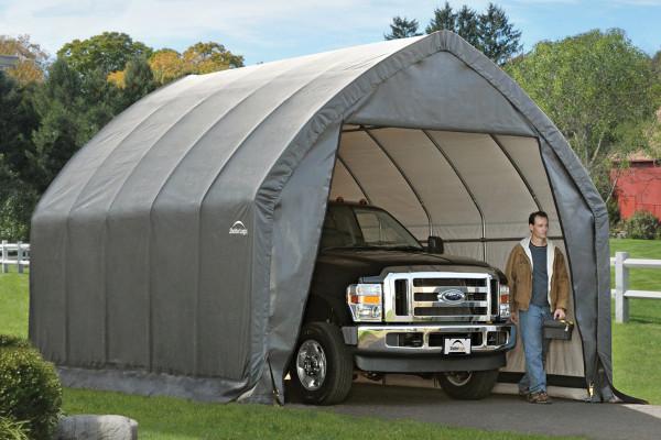13x20x12 Alpine Style SUV/Truck Shelter Grey
