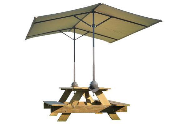 Quick Clamp Canopy, Tilt Mount Desert Bronze