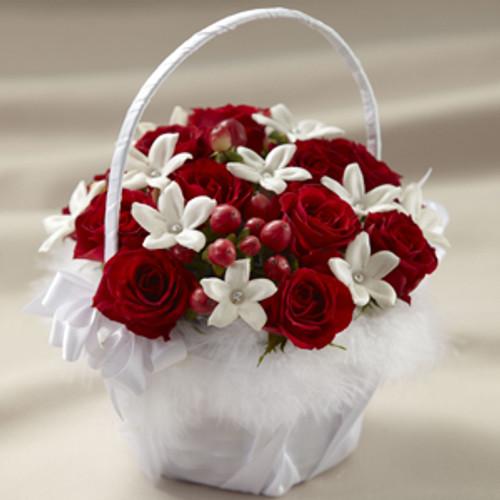 Baby Love Flower Girl Basket
