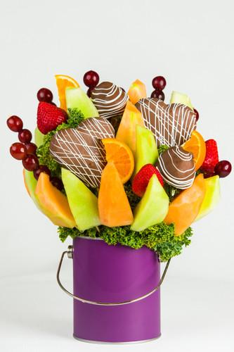 Painted Fruit Arrangement