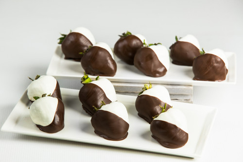 1 Dz. Double Dipped Chocolate Strawberries