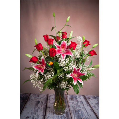 Premium Dozen Rose Bouquet