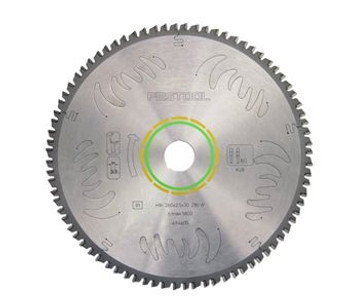 Festool Fine Tooth Cross-cut Saw Blade For The Kapex Miter Saw - 80 Tooth