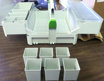 Festool Small Container Boxes for SYS-SB (6pc)