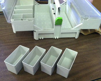 Festool Medium Container Boxes for SYS-SB (4pc)