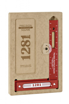 Woodpeckers 1281R-300 - 300mm Precision Metric Woodworking Square (1281R-300)