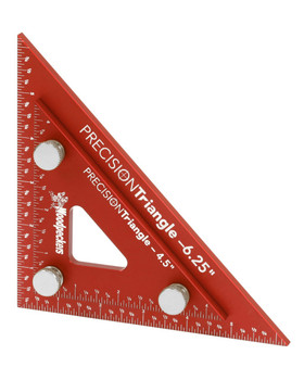 "Woodpeckers | Precision Triangle Set 4"" & 6"" (PTR46SET)"