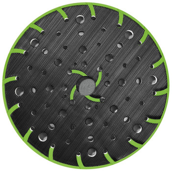 "Festool 6"" Multi-Jetstream 2 Sanding Pad for RO 150 FEQ, HARD - black"