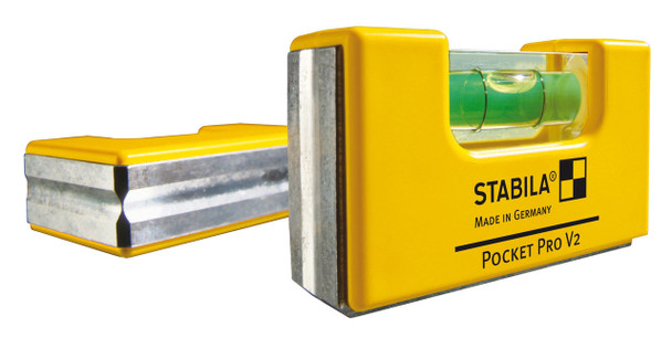 Stabila Magnetic Pocket Level Pro w/ Holster (11901)