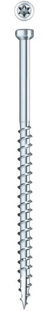 "GRK PHEINOX FIN TRIM Stainless Steel #8 x 1-1/2"" (100 pcs) (37724)"