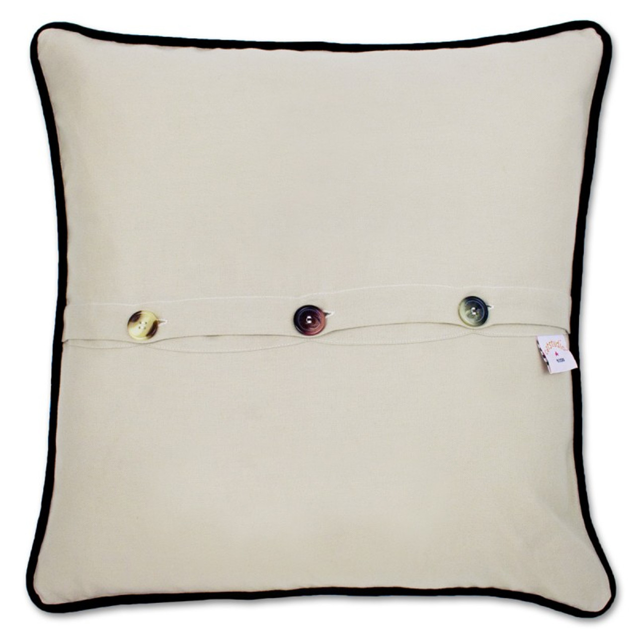 ... Hand Embroidered Catstudio Pillows (STATES) ...