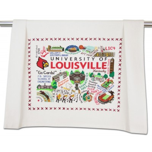UL Embroidered Tea Towel