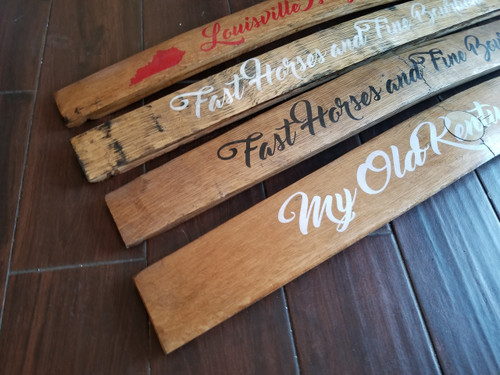 Bourbon Barrel Staves