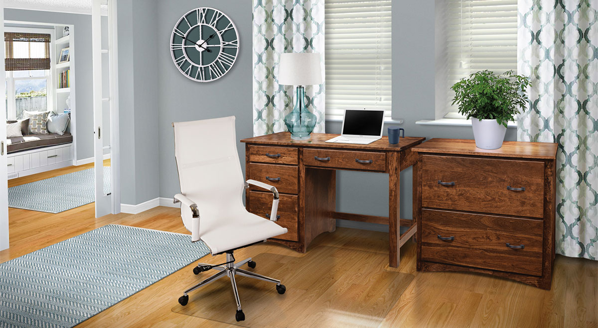 Hardwood Office Desk