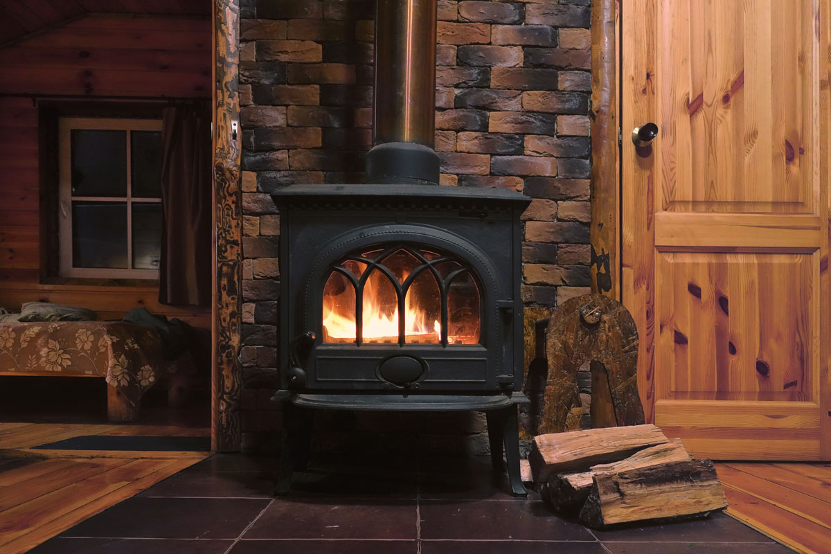 Traditional Wood Burning stove