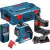 Bosch GLL 3-80p self leveling laser plus laser receiver plus  Wall Mount +LR2 + L-BOXX 1